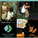 Artists perform at the launch of Caribbean InTransit's second issue at the University of the West Indies, St. Augustine, Trinidad