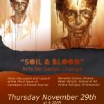 FLYER Soil and Blood_ Arts for Social Change