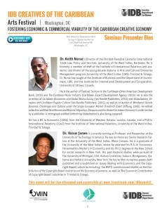 IDB CREATIVES OF THE CARIBBEAN OFFICIAL SEMINAR AGENDA _Page_2